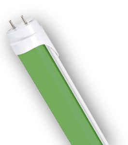 Tubo Led 20W Verde 1.2mts